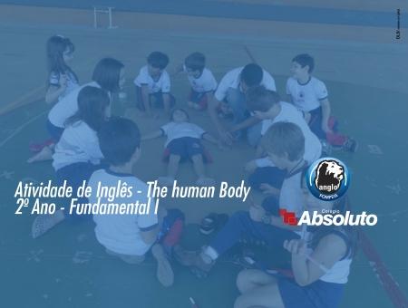 Atividade de Ingl�s - The Human Body