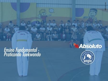 Ensino Fundamental - Praticando Taekwondo