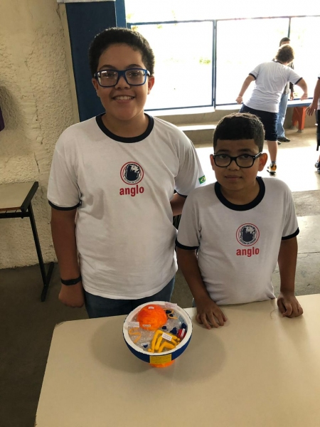 As maquetes do 7º ano