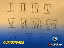 A aus�ncia do zero no sistema de numera��o romano