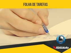Download: Folha de Tarefa (Ensino Fundamental)