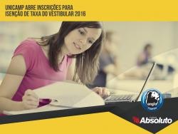 Unicamp abre inscri��es para isen��o de taxa do vestibular 2016